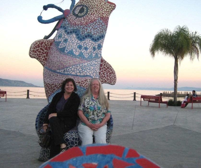 Me and Barb in Mexico, Nov. 2008