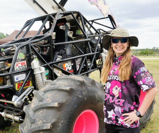 At 14, Mad Mo is Paving the Way for Girls in Pro Monster Trucks