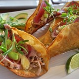 #FishTacoCompetition: Nauti Parrot Dock Bar, Fort Myers Beach