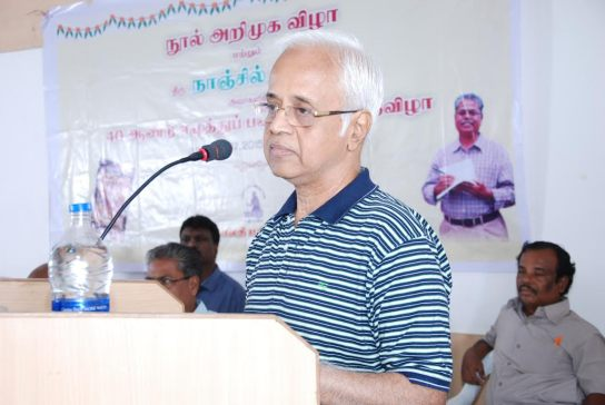 Author_Va_Srinivasan_Solvanam_Writers_Speech