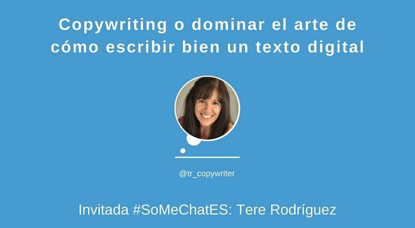 Copywriting: cómo escribir un texto digital atrayente - Twitter chat