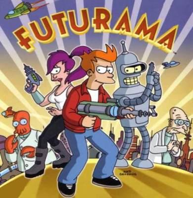 Desenhos animados anos 90 - Futurama
