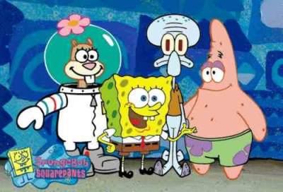 Desenhos animados anos 90 - Spongebob Squarepants