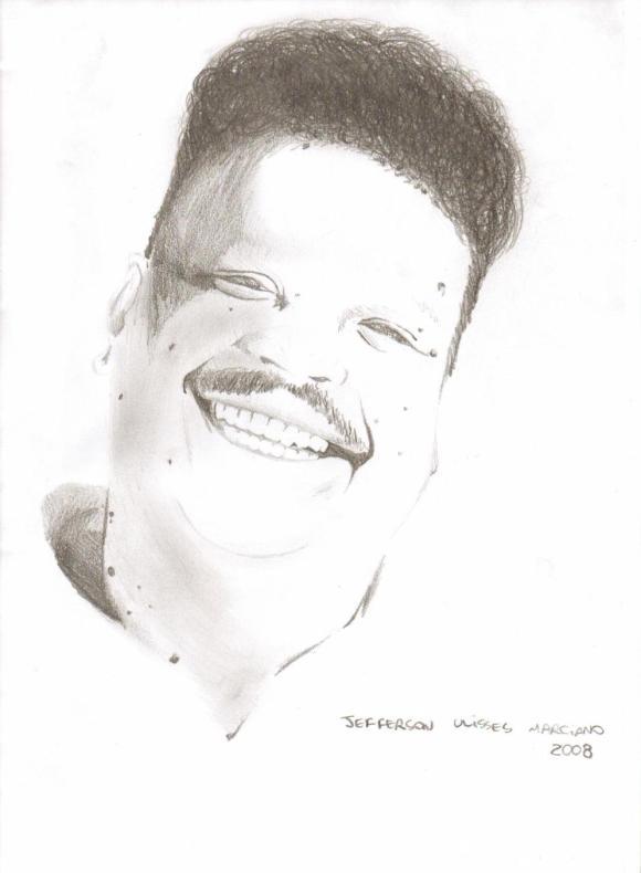 Desenho de Tim Maia