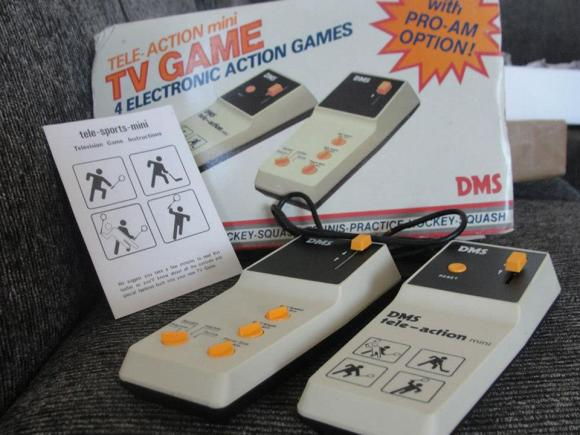 Videogame antigo - DMS TV Games - 1978