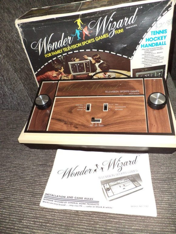Videogame antigo - Wonder Wizard - 1976