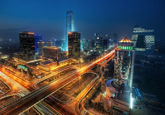 Beijing at Night-XL