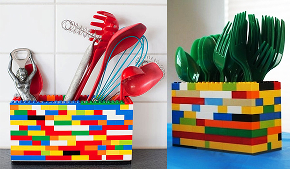 Porta-Utensílios---Lego