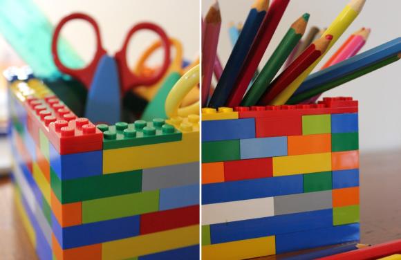 Porta-treco-Lego