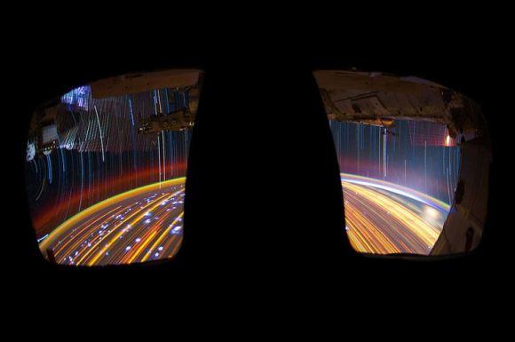 Fotos em longa exposição do espaço (7)
