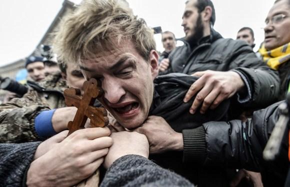 """TOPSHOTS 2014-UKRAINE-UNREST-EU-RUSSIA-POLITICS"""