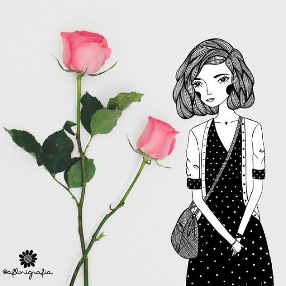 Desenhoes e flores (2)