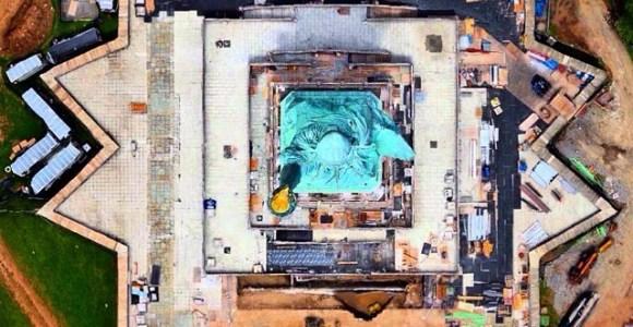 28 fotos aéreas que farão você ver o mundo de outra maneira