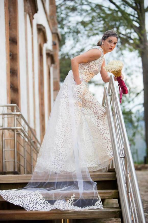 Vestidos de noiva com sacos de cimento 10