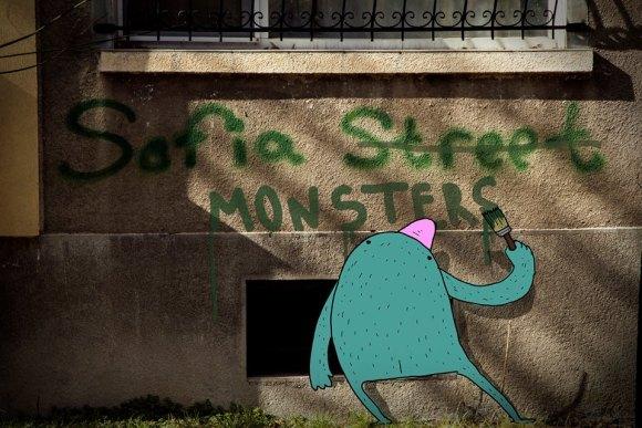 Desenhos de monstros 12