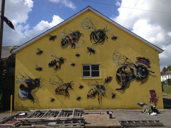 Grafite abelhas 10