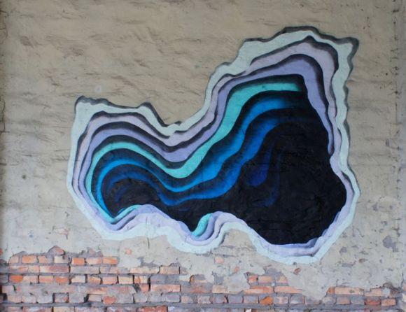 Grafite - buraco 3D 46