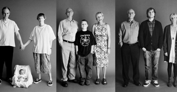 Família tira a mesma foto por 24 anos, e o resultado é algo que você nunca viu!