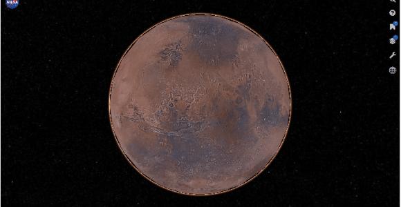 """NASA lança """"Google Maps"""" de Marte e agora você pode visita-lo!"""