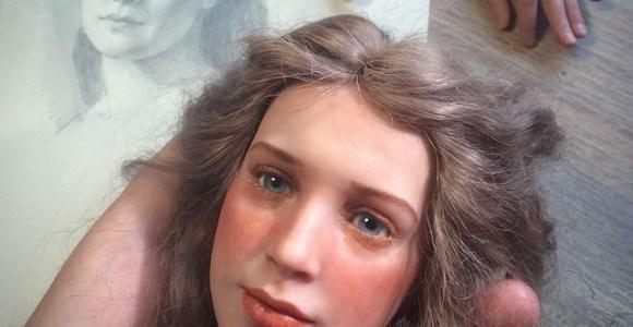 Artista russo cria bonecas estranhamente realistas