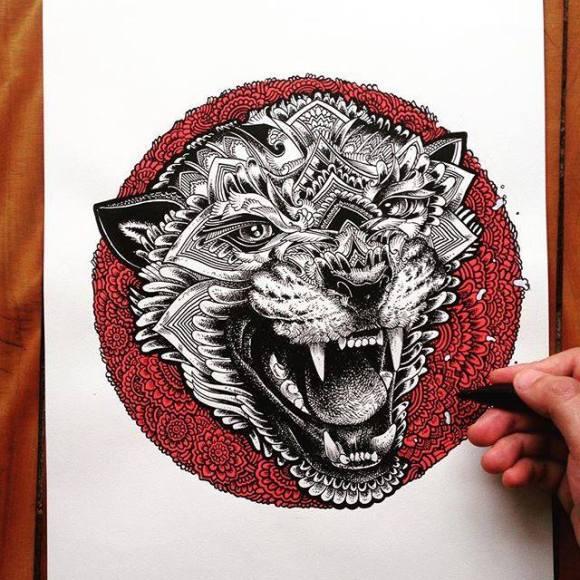 Ilustrações de artista brasileiro 12