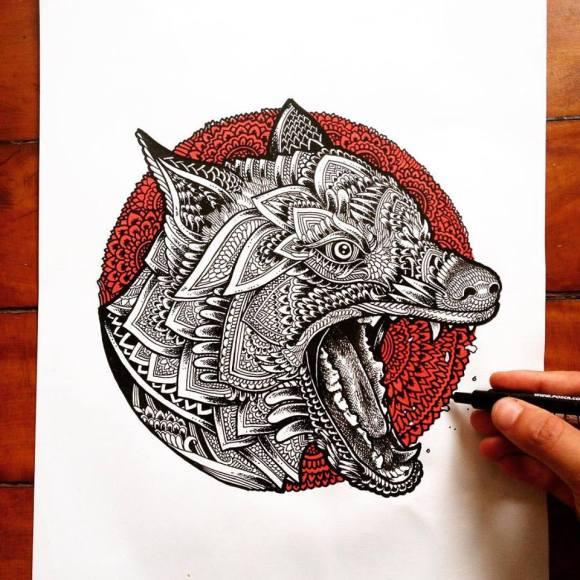 Ilustrações de artista brasileiro 2