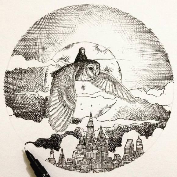 Ilustrações de artista brasileiro 7