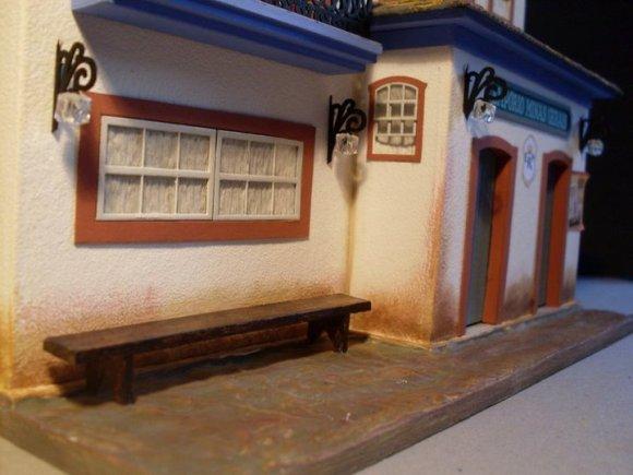 Miniaturas de cenários mineiros - maquetes de Minas Gerais 3