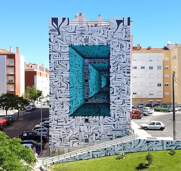 Grafite 3D parece portal 1