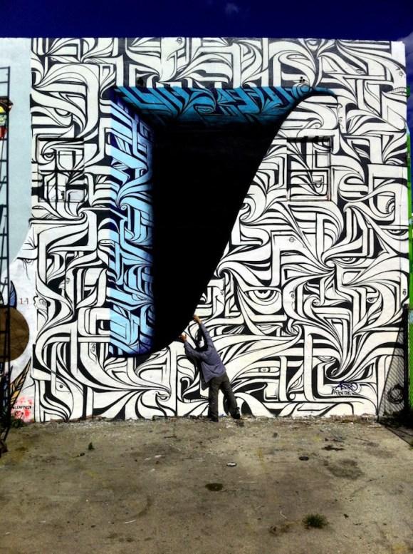 Grafite 3D parece portal 7