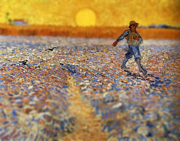Van Gogh em tiltshift 13