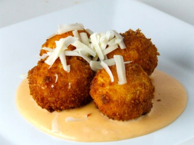 Touchdown Thursdays: Fried Macaroni & Cheese with Spicy ...