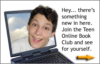 Ad graphic for Teen Online Bookclub