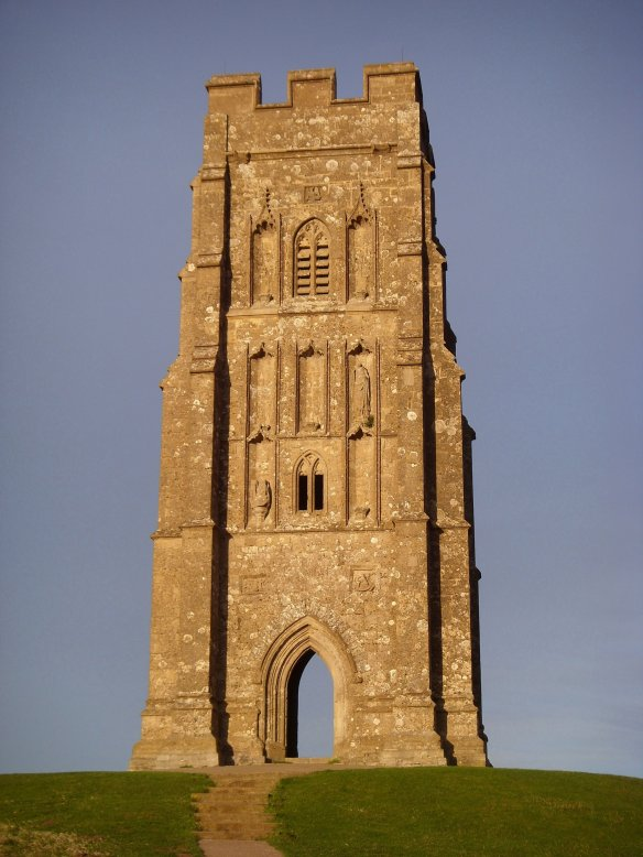 St. Michaels' Tower - Glastonbury Tor.