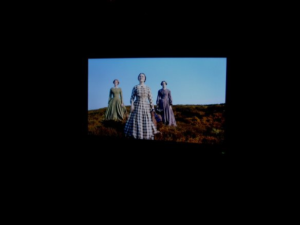 The Bronte Sisters on my widescreen.