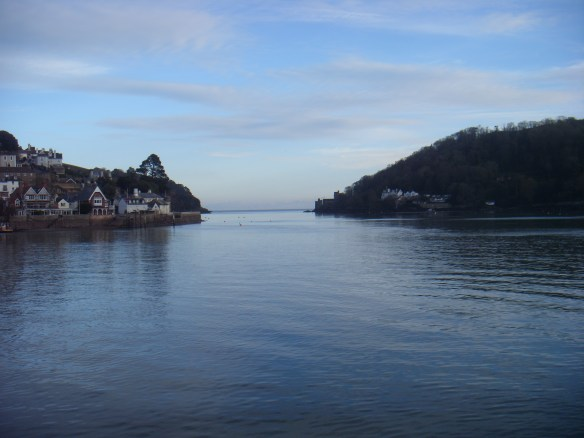 Dartmouth Harbour. Something about Dartmoor