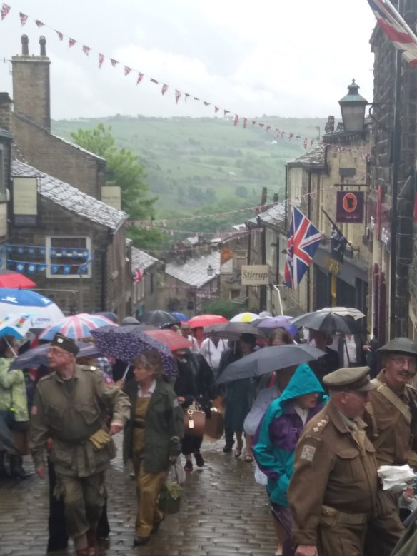 1940's event in Haworth