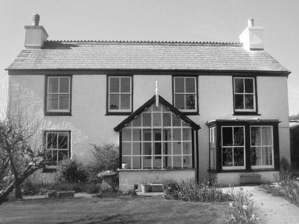 The house where I was born. The staddle stones are still there to this day.