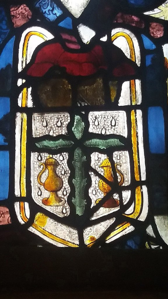 'The Light.' Detail from the Sanctuary Window of St. John's Church