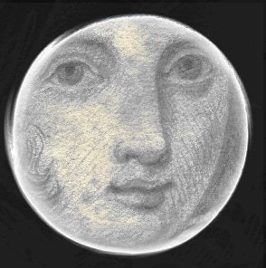 Full Circle Moon.