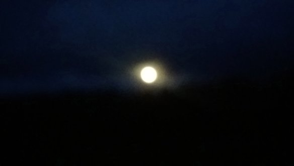 New Year Full Moon Over 'Shedland' 1st January 2018 (3)