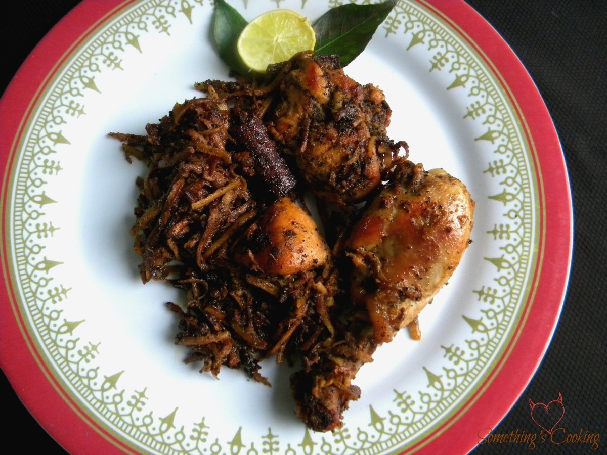 Pepper Chicken- Chettinad Style #AtoZChallenge