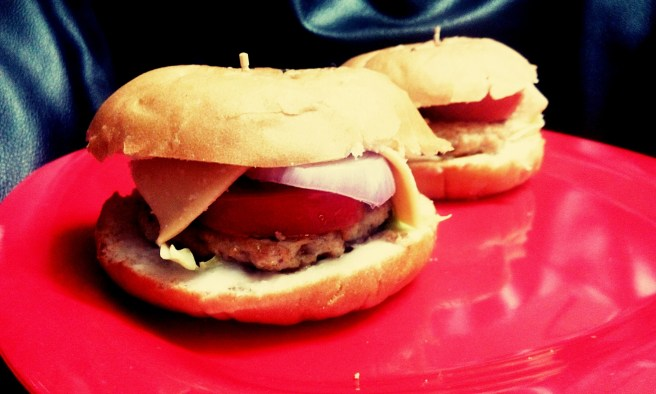 Chicken Burger Simple