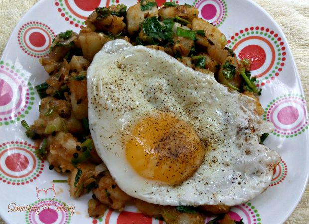 Indian Spiced Potato Hash