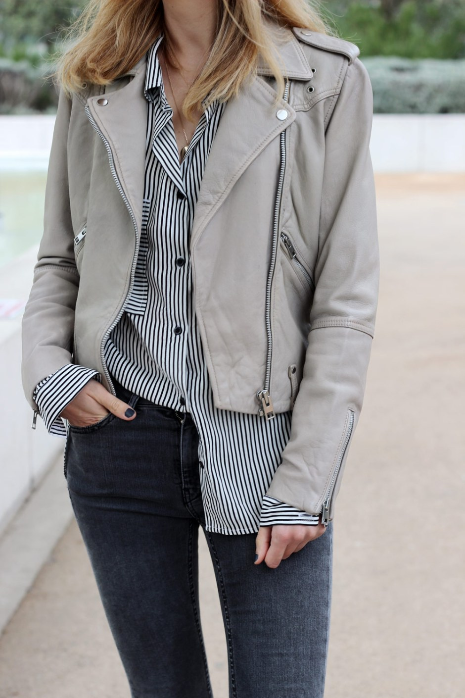 outfit-striped-shirt-breal-perfecto-mango