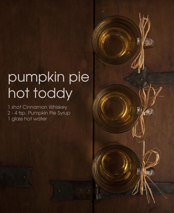 signature wedding cocktail pumpkin pie hot toddy