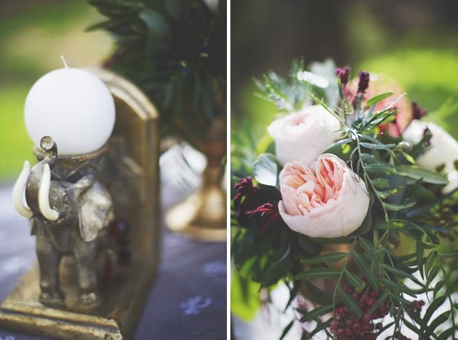 Garden Bohemian Romance styled shoot