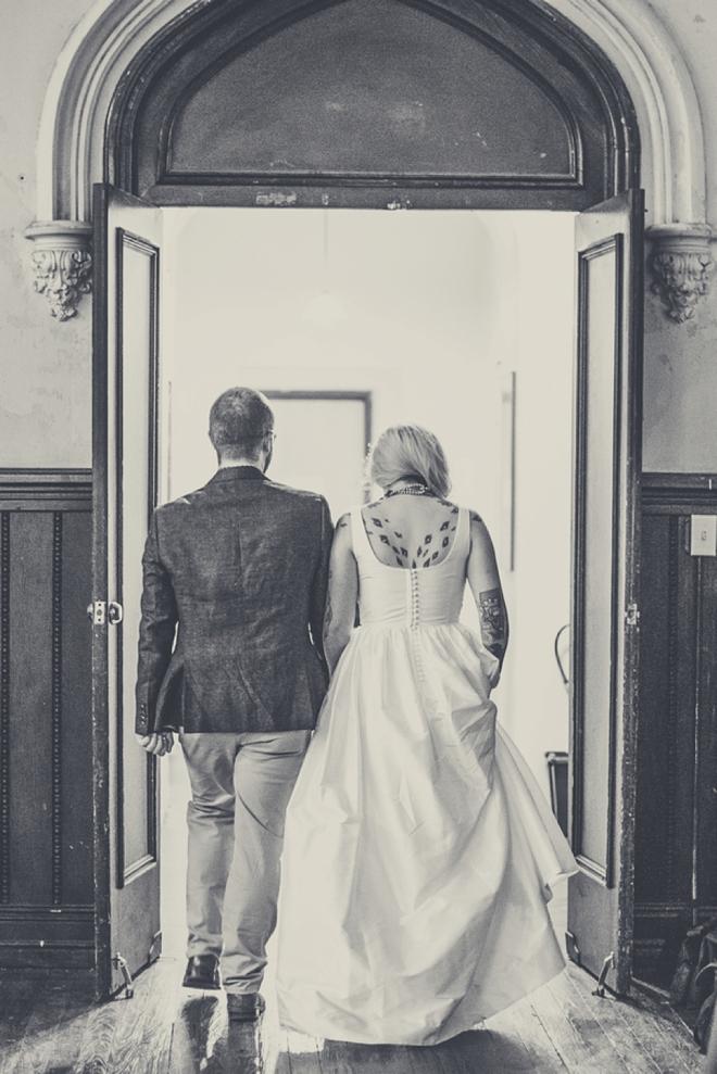 DIY Boho bride and groom...