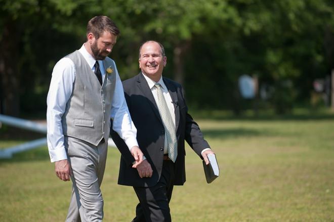 groom and pastor