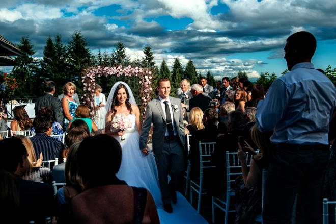 Steve And Carrie Capilano Golf Course Wedding